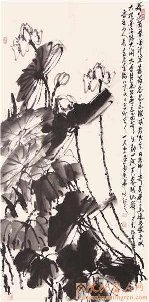 书画家吴金满国画作品