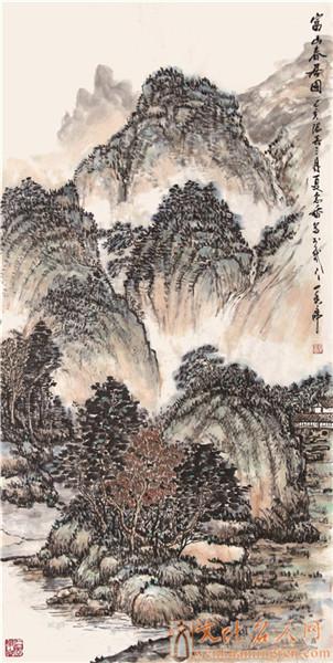 画家夏念香国画作品