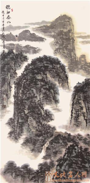 画家薛勇国画作品
