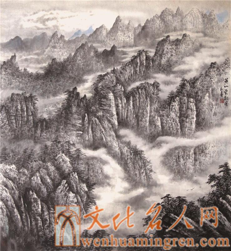 画家朱和喜国画作品