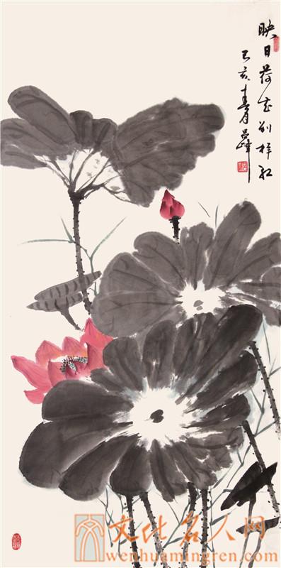 画家吕峰国画作品