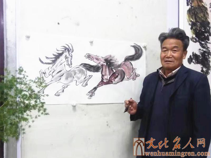 画家薛维光
